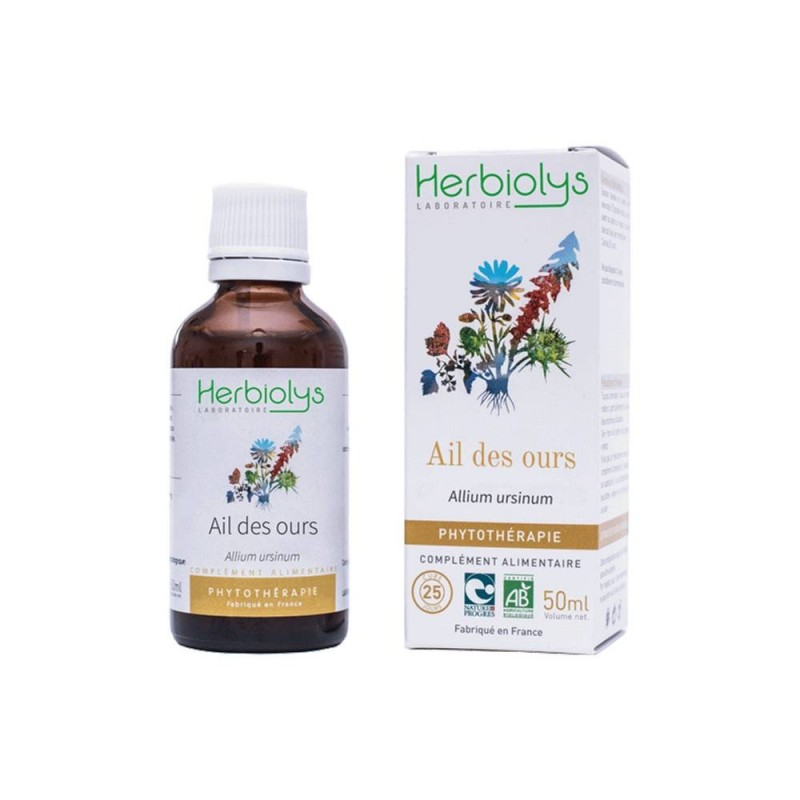 Herbiolys - Ail des ours Bio - 50 ml