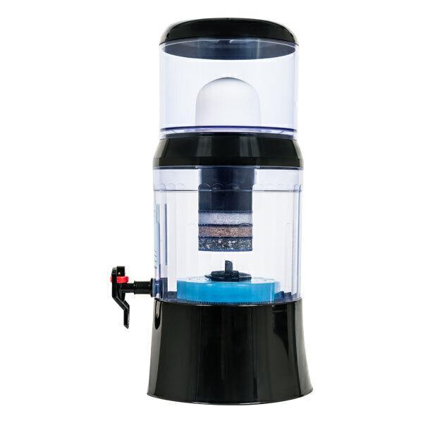 Fontaine EVA - Fontaine à eau filtrante EVA 700 BEP Noir 7L