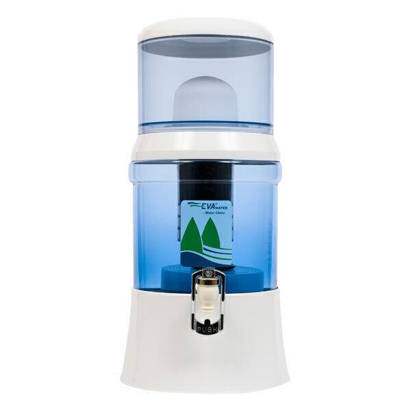 Fontaine EVA - Fontaine à eau filtrante EVA en verre 700 BEP 7L