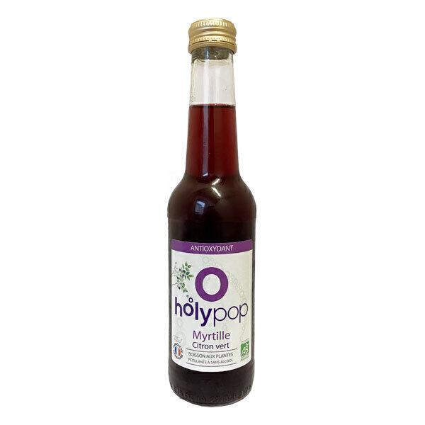 Holypop - Holypop myrtille et citron vert 27,5cl