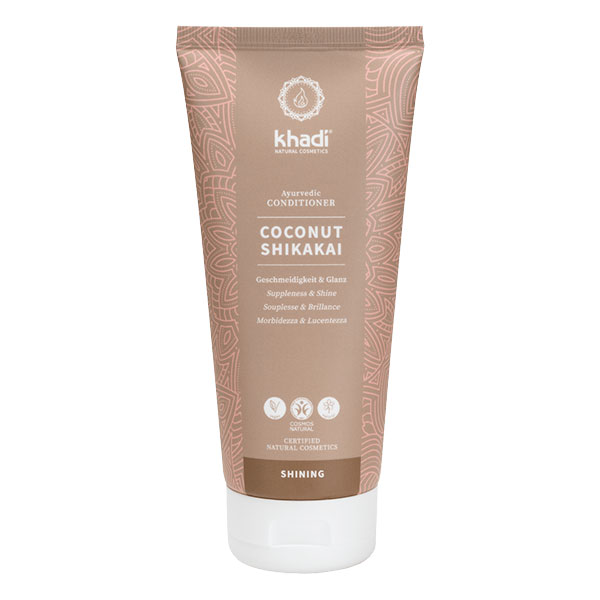 Khadi - Après-shampoing Coconut Shikakai 200ml