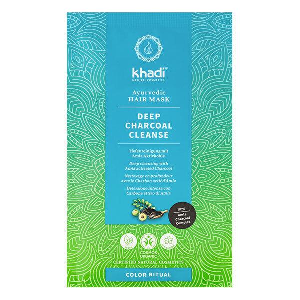 Khadi - Masque capillaire Deep Charcoal Cleanse 50g