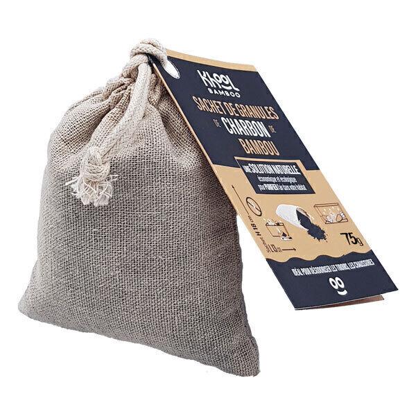 Khool Bamboo - Sachet de granules de charbon de bambou 75g