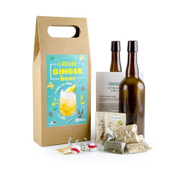 Radis et Capucine - Kit fabrication DIY Ginger Beer bio 2 x 75 cl