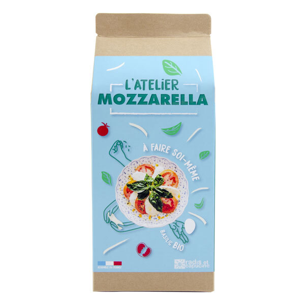 Radis et Capucine - Kit fabrication DIY Mozzarella bio 1L
