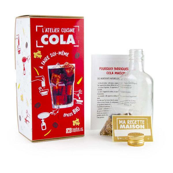Radis et Capucine - Kit fabrication DIY sirop de Cola bio 1L