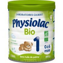 Physiolac - Physiolac Bio 1 - lot de 6 boites de 800g