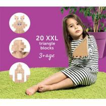 GIGI - GIGI - 20 briques Triangles XL