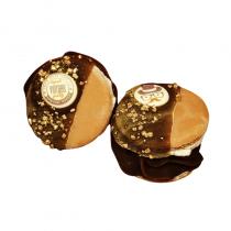 Les Trésors d'Yggdrasil - Savon macaron choco noisette patisavon 100% naturel