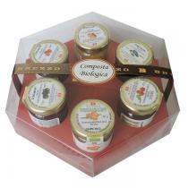 Saveurs de Tosca - Coffret Collection 6 Compotes Bio haute qualité 100% italienne -