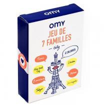 OMY - Jeu de 7 familles à colorier - City - Omy