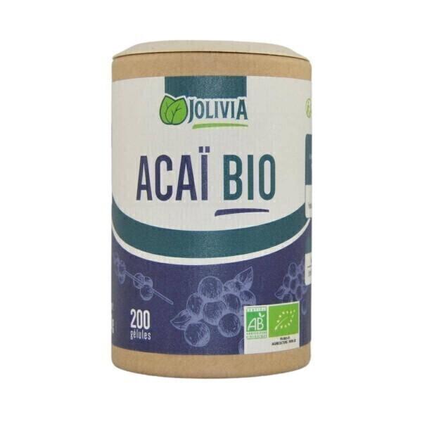 Jolivia - Açaï Bio - 200 gélules végétales de 300 mg