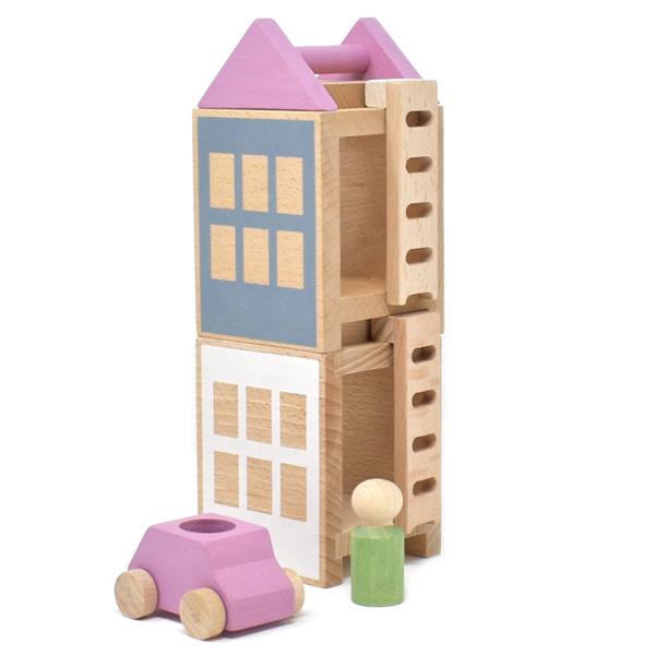 LUBULONA - Jeu de construction Petite ville de Printemps