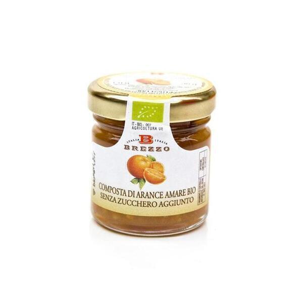 Saveurs de Tosca - Mignon Compote Confiture d'oranges amères BIO Brezzo - 40 g