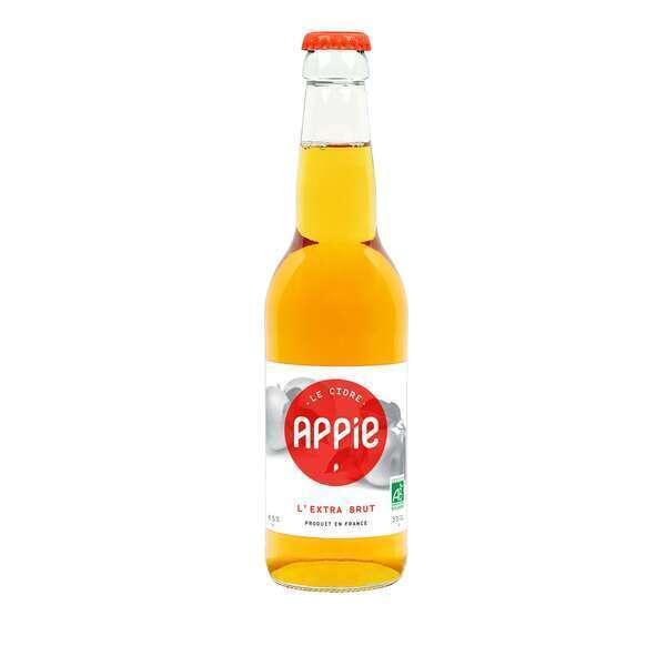 Appie - Pack Cidres 12 x 33cl - L'EXTRA BRUT BIO (6.5%)