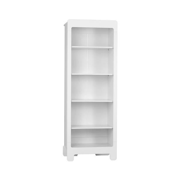 Pinio - Bibliothèque Moon - Blanc