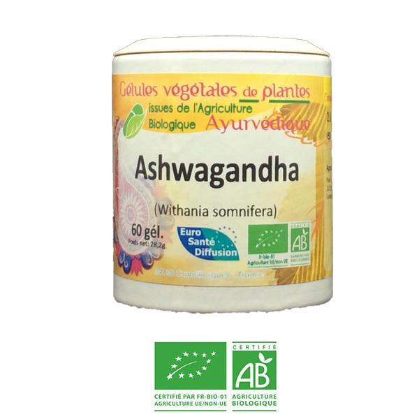Euro Santé Diffusion - Ashwagandha Bio - Pour votre stabilité émotionnelle