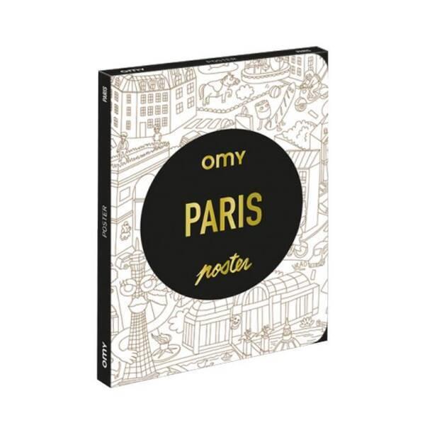 OMY - Coloriage Pocket - Paris - Omy