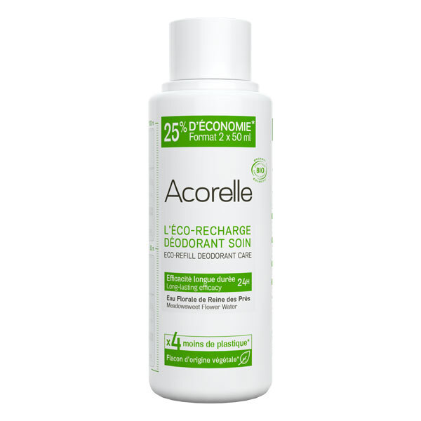 Acorelle - Recharge deo soin efficacite longue duree 100ml