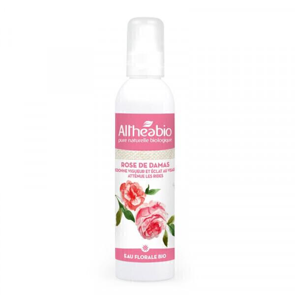 Althéabio - Eau florale de Rose de Damas Bio - 200 ml