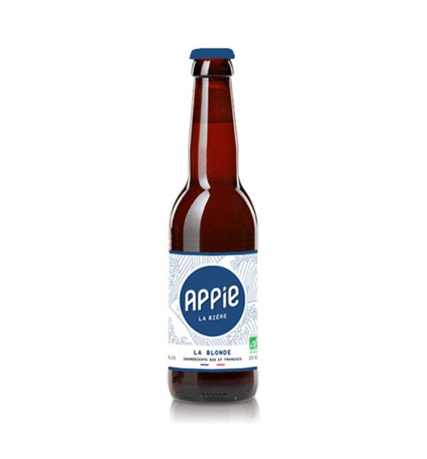 Appie - Pack Bières 12 x 33cl - LA BLONDE BIO (4.9%)