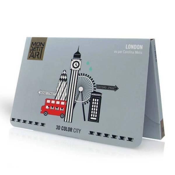 Mon Petit Art - 3D color city - Londres à colorier