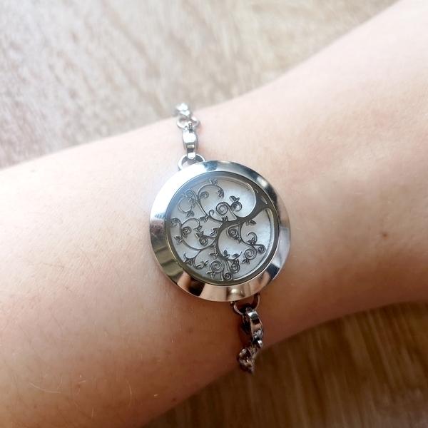 Zen' Arôme - Bracelet d'Aromathérapie Arbre de Vie