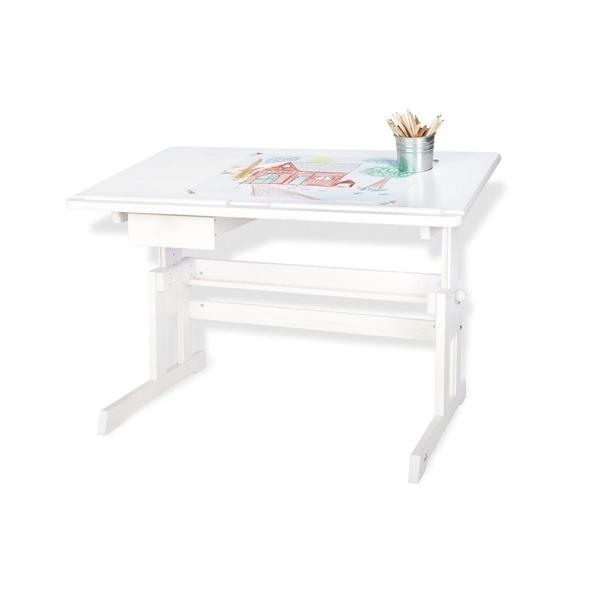 Pinolino - Bureau pour enfants Lena laqué blanc