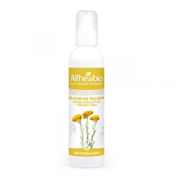 Althéabio - Eau florale d'Hélichryse italienne Bio - 200 ml