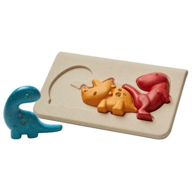 Plan Toys - Mon 1er puzzle Dinosaure