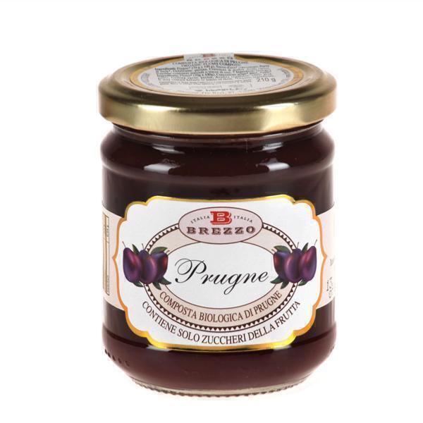 Saveurs de Tosca - Compote Confiture de prunes BIO - 210 gr Italienne Brezzo