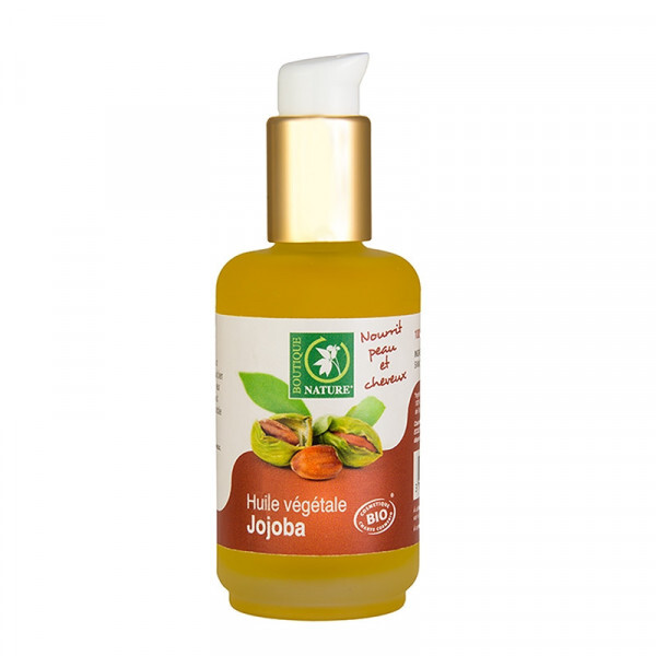 Boutique Nature - Huile végétale Jojoba Bio - 50 ml
