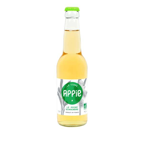 Appie - Pack Cidres 6 x 33cl - LE POIRÉ GINGEMBRE BIO (3.3%)