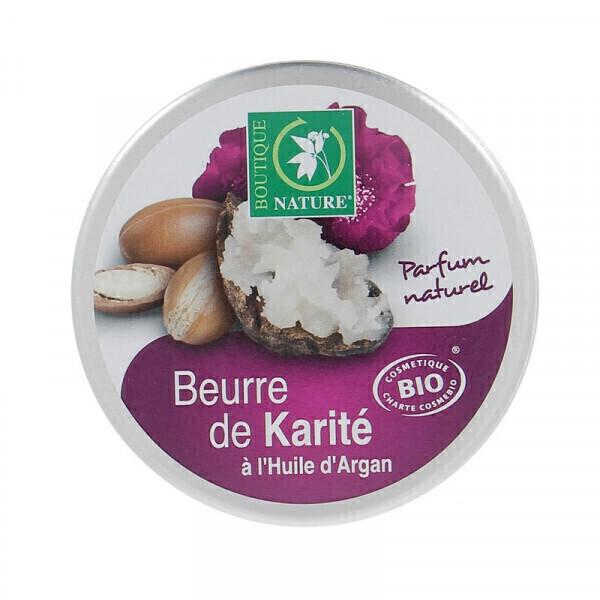 Boutique Nature - Beurre de Karité à l'Huile d'Argan Bio - 100 ml