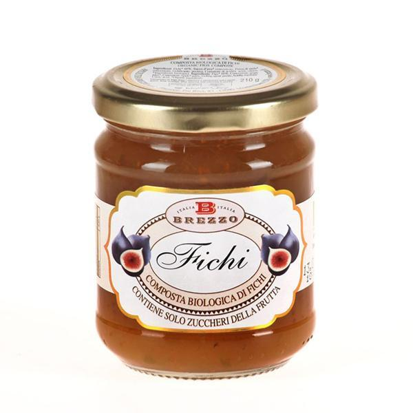 Saveurs de Tosca - Compote Confiture de figues BIO - 210 gr Italienne Brezzo