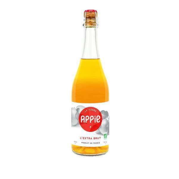 Appie - Pack Cidres 6 x 75cl - L'EXTRA BRUT BIO (6.5%)