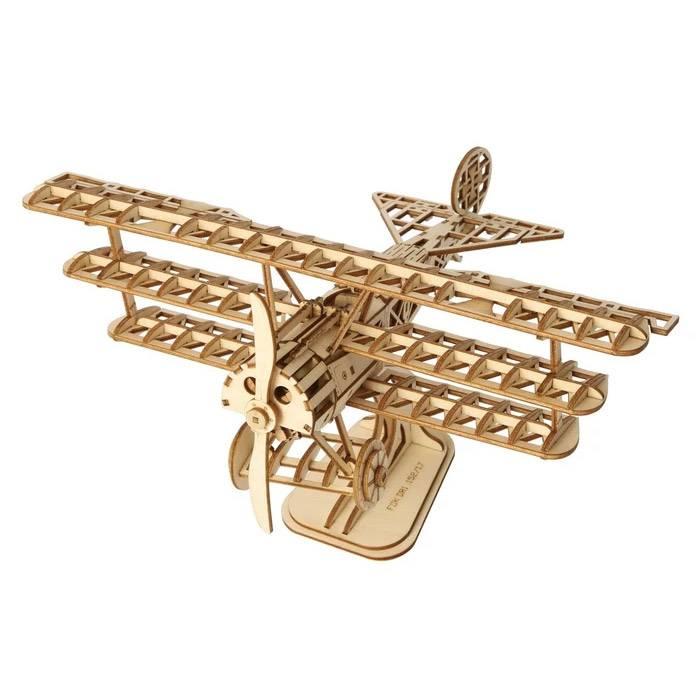 Robotime - Maquette 3D - Avion Triplan