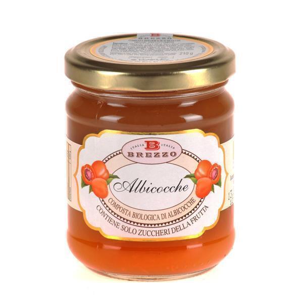 Saveurs de Tosca - Compote Confiture d'abricots BIO - 210 gr Italienne Brezzo