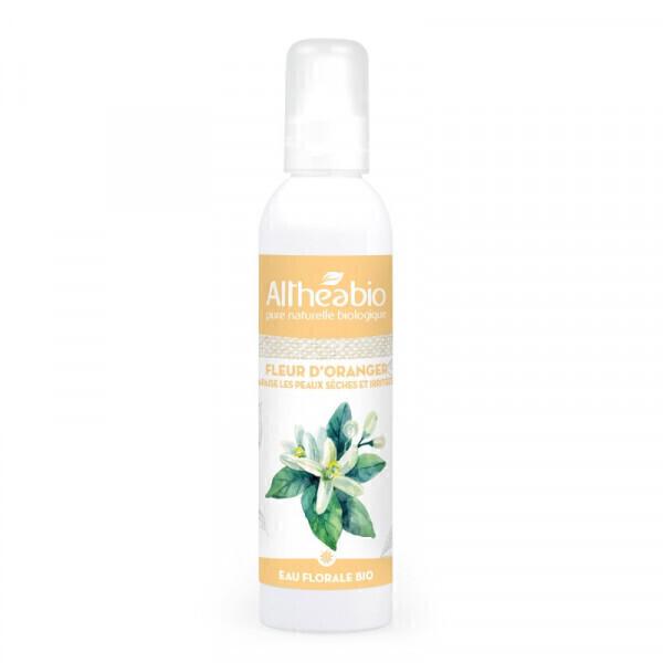 Althéabio - Eau florale de Fleur d'Oranger Bio - 200 ml