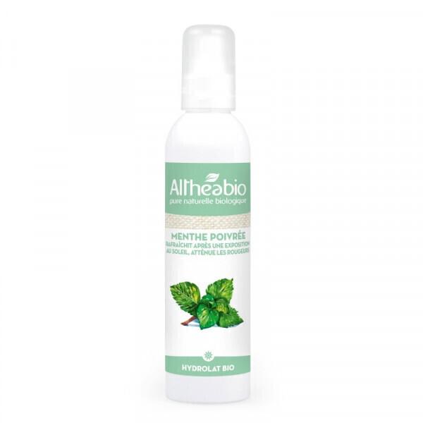 Althéabio - Eau florale de Menthe Poivrée Bio - 200 ml