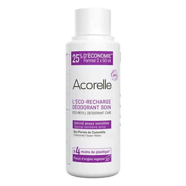 Acorelle - Recharge deo soin special peaux sensibles 100ml