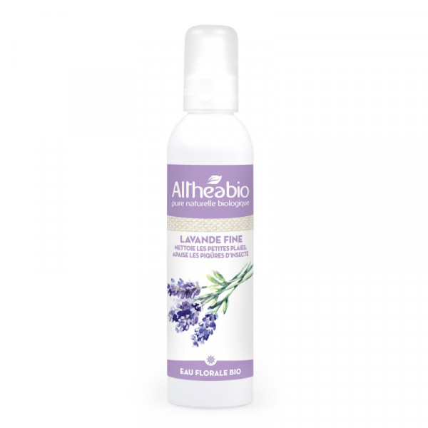 Althéabio - Eau florale de Lavande fine Bio - 200 ml