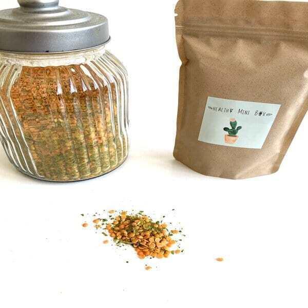 Healthy mini box - Curry de lentilles-épinards bio 170 gr