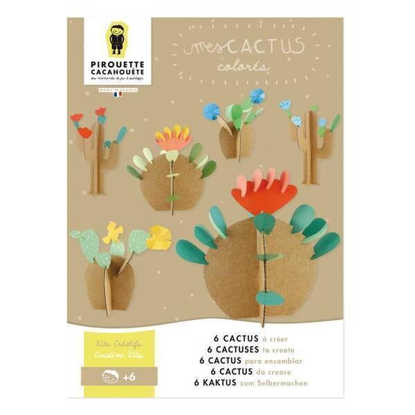 Pirouette cacahouete - Kit créatif Cactus