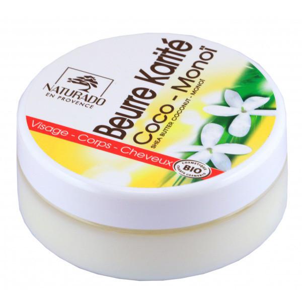 Naturado - Beurre de Karité coco Monoï Bio - 150 ml
