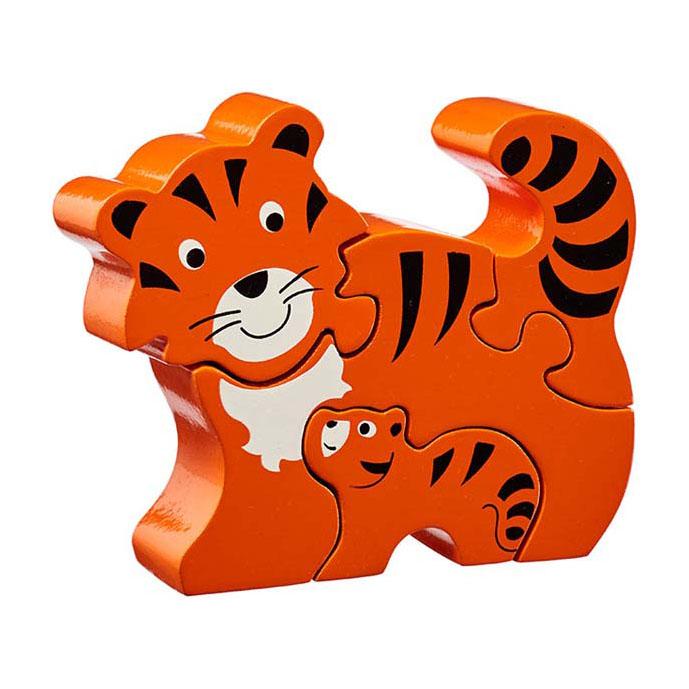 LANKA KADE - Puzzle en bois Tigre et son bébé