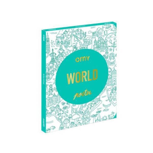 OMY - Coloriage Pocket - World - Omy
