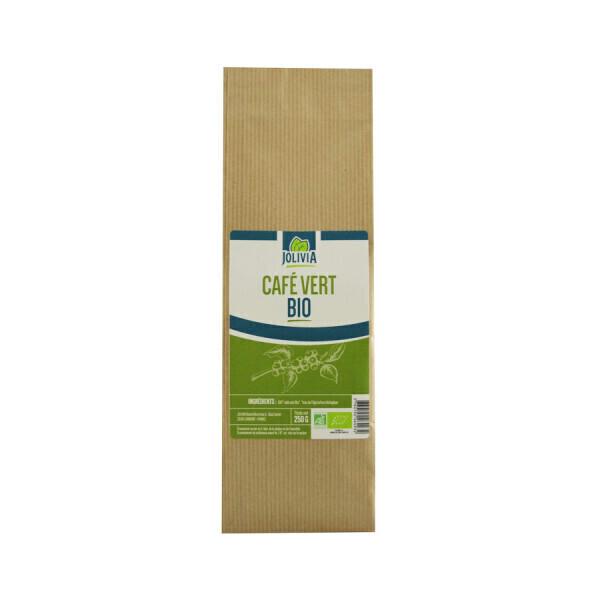 Jolivia - Café vert Bio en grains - 250 g