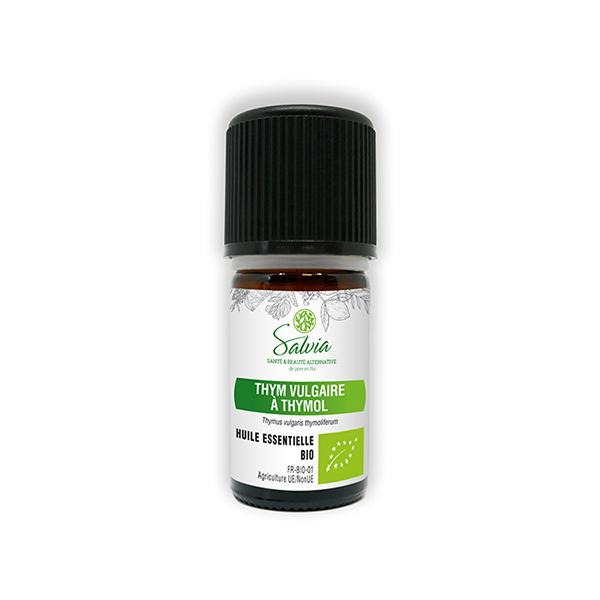 Salvia - Thym vulgaire à thymol - huile essentielle bio* - 5mL