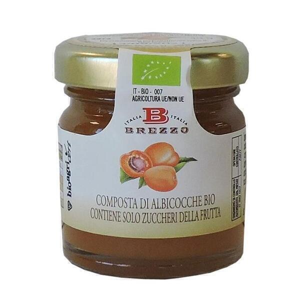Saveurs de Tosca - Mignon Compote Confiture d'abricots BIO Brezzo - 40 gr Ital